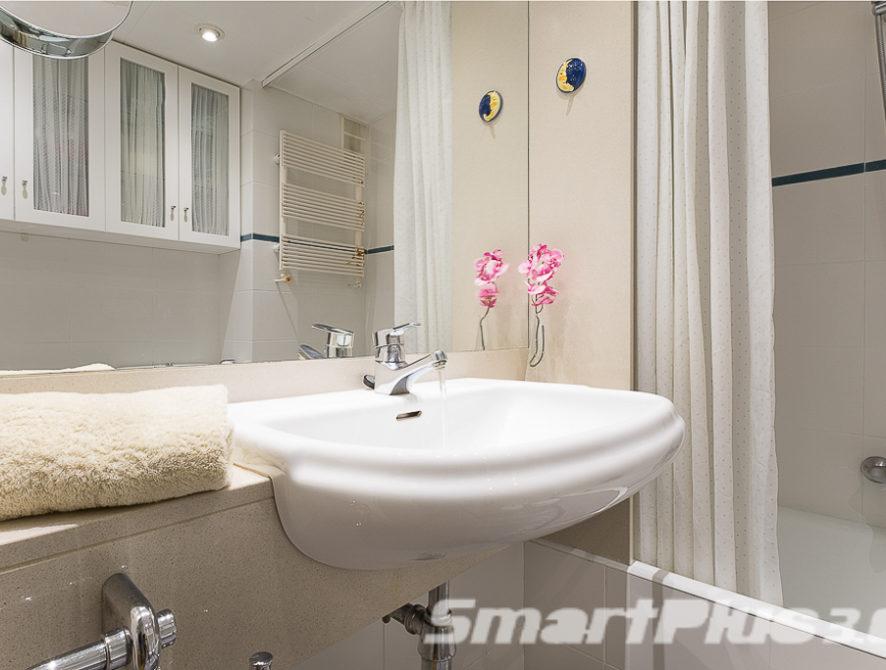 Cuarto de baño habitaciones individuales 1.1