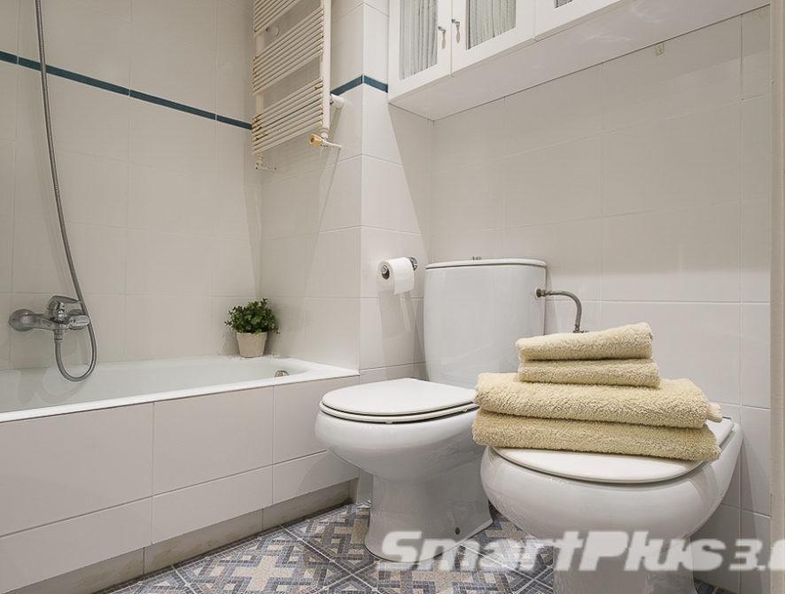 Cuarto de baño habitaciones individuales 1.2