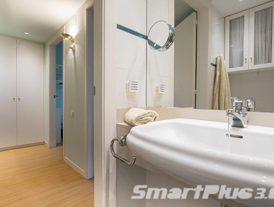 Cuarto de baño habitaciones individuales 1.3